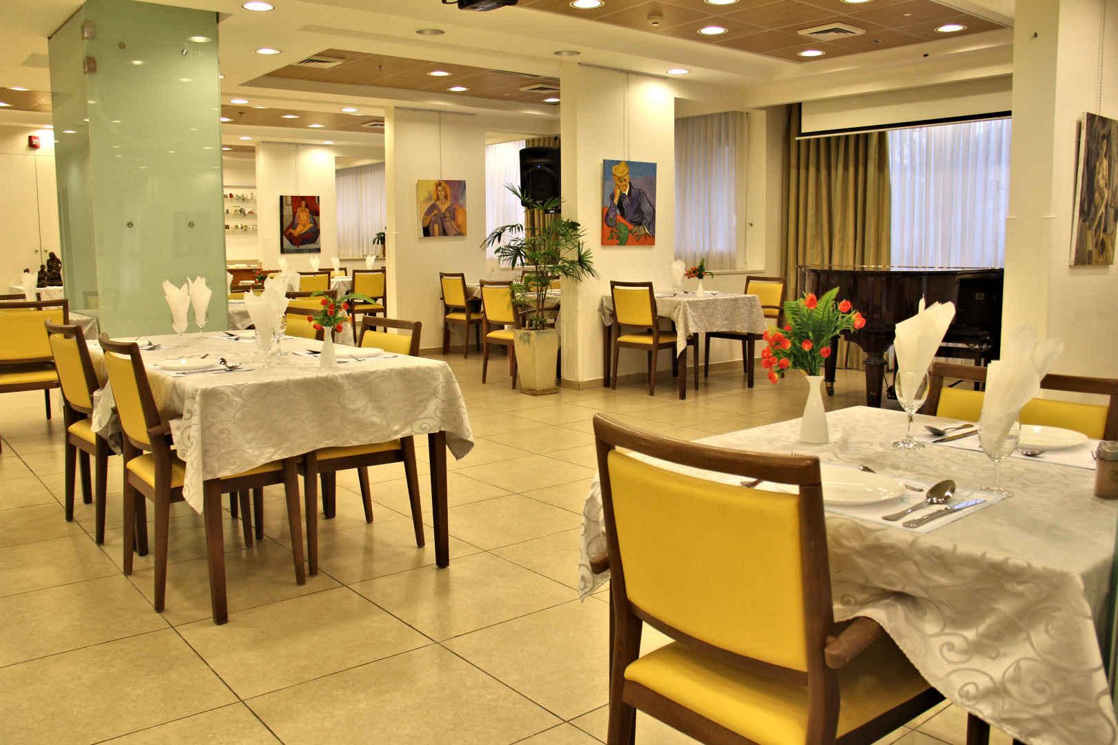 בית בלב תל אביב חדר אוכל