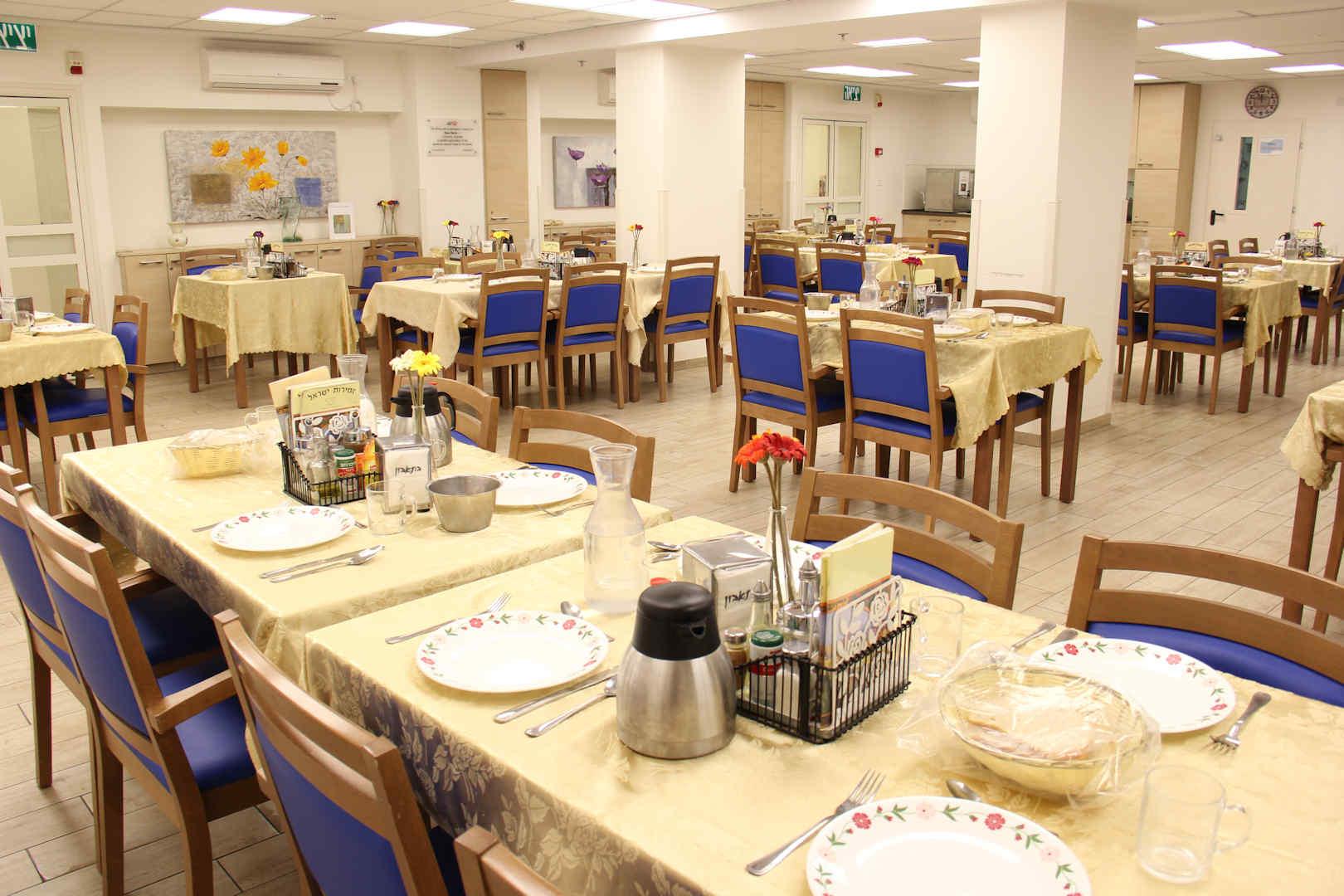 בית ג'ני ברויאר לציבור הדתי לאומי חדר אוכל