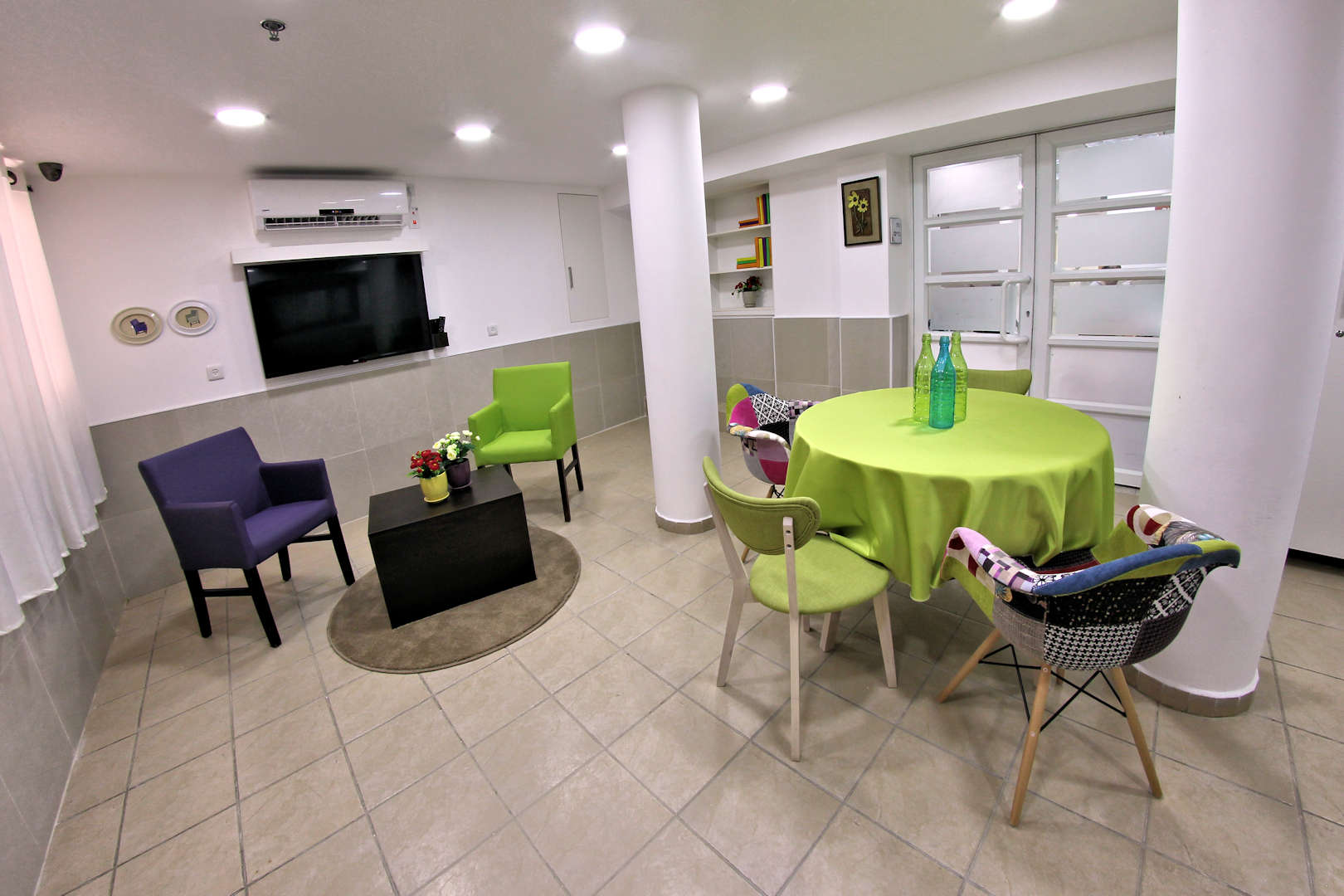 בית הורים בן יהודה בחיפה כניסה