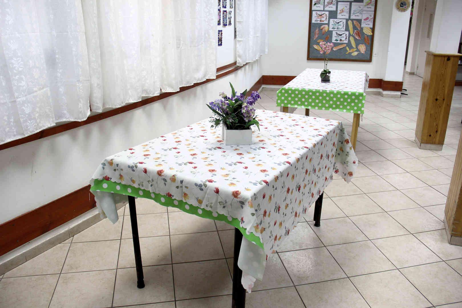 בית החלמה חדר אוכל