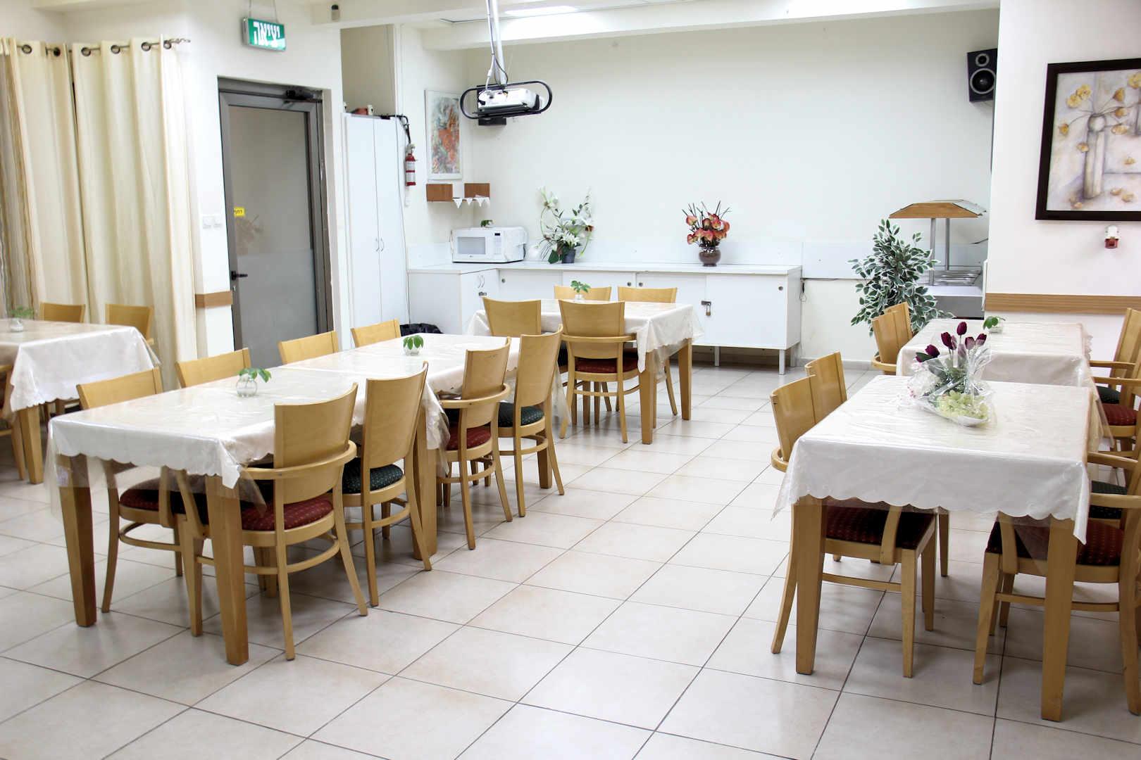 דיור מוגן נהריים חדר אוכל