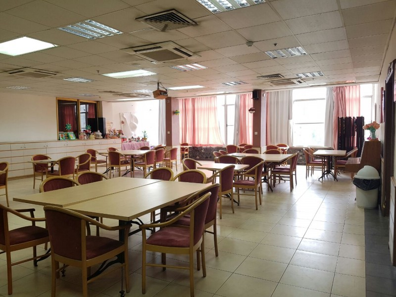 בית אבות גן דויד – רחובות חדר אוכל