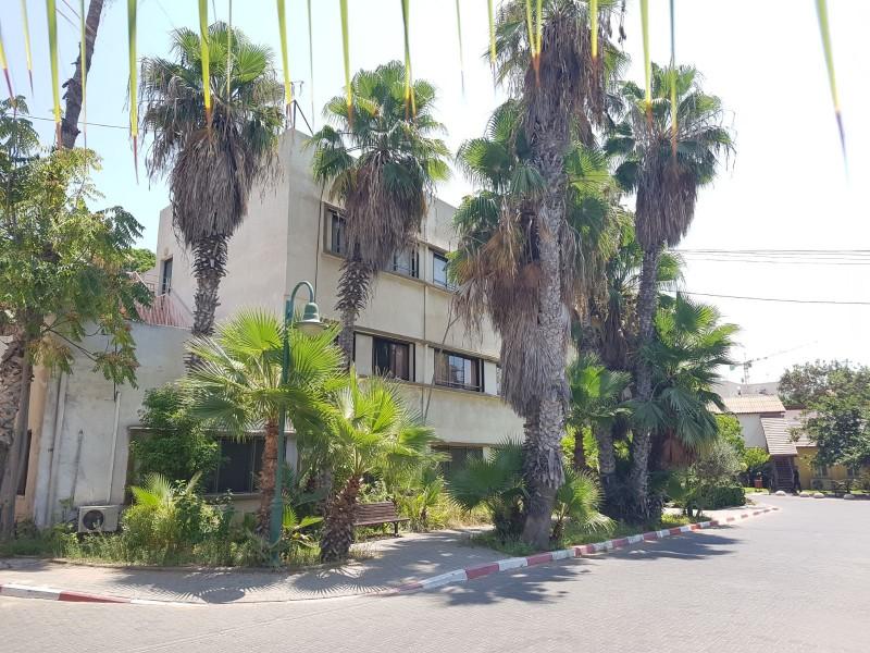 בית אבות צהלון ירושלים חצר
