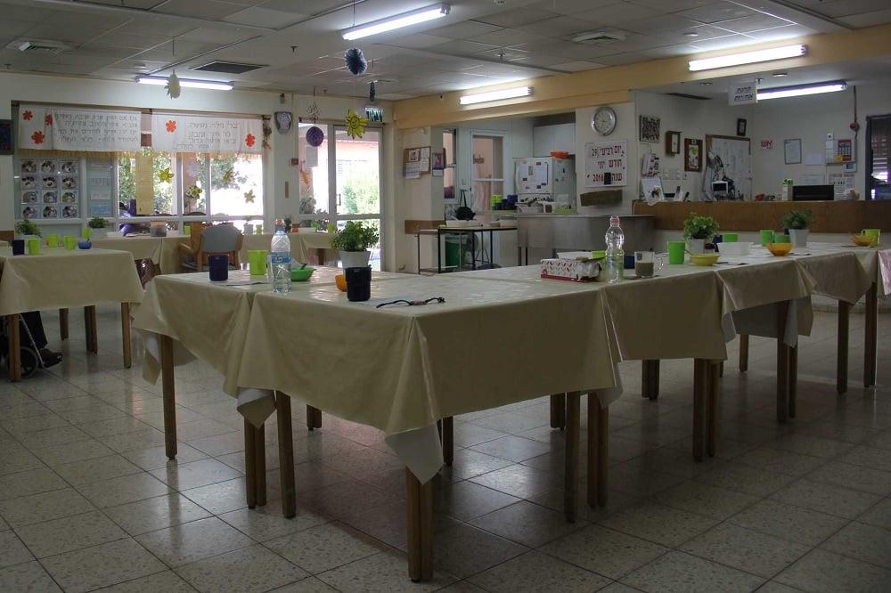 מוסד בית הדר, עין החורש חדר אוכל