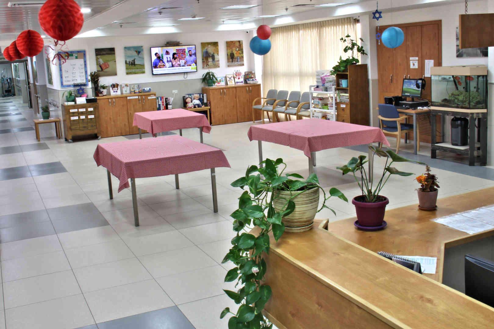 מרכז גריאטרי רחל ליצק חדר אוכל