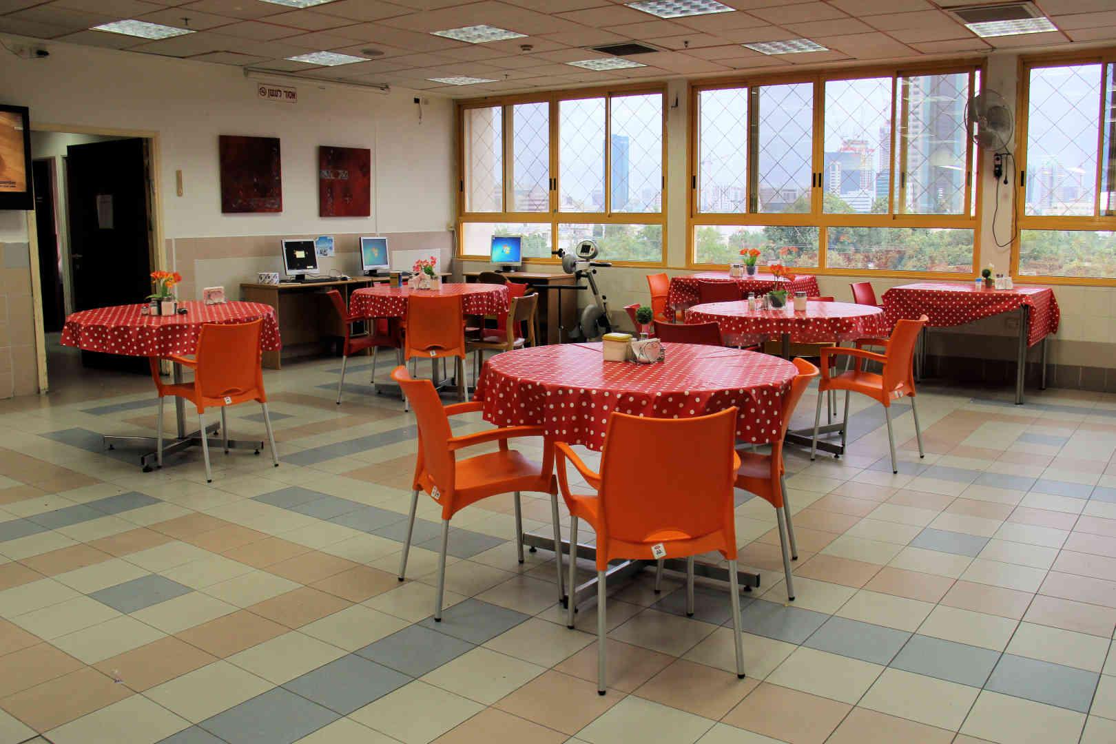 מרכז רפואי שיקומי רעות חדר אוכל