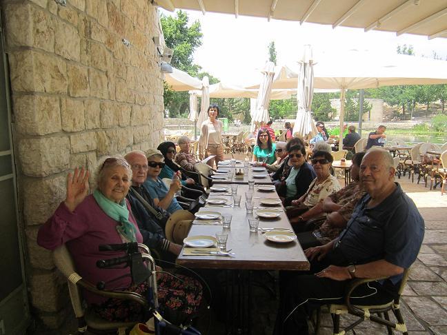 דיור מוגן נופי מוצא – ירושלים חדר אוכל